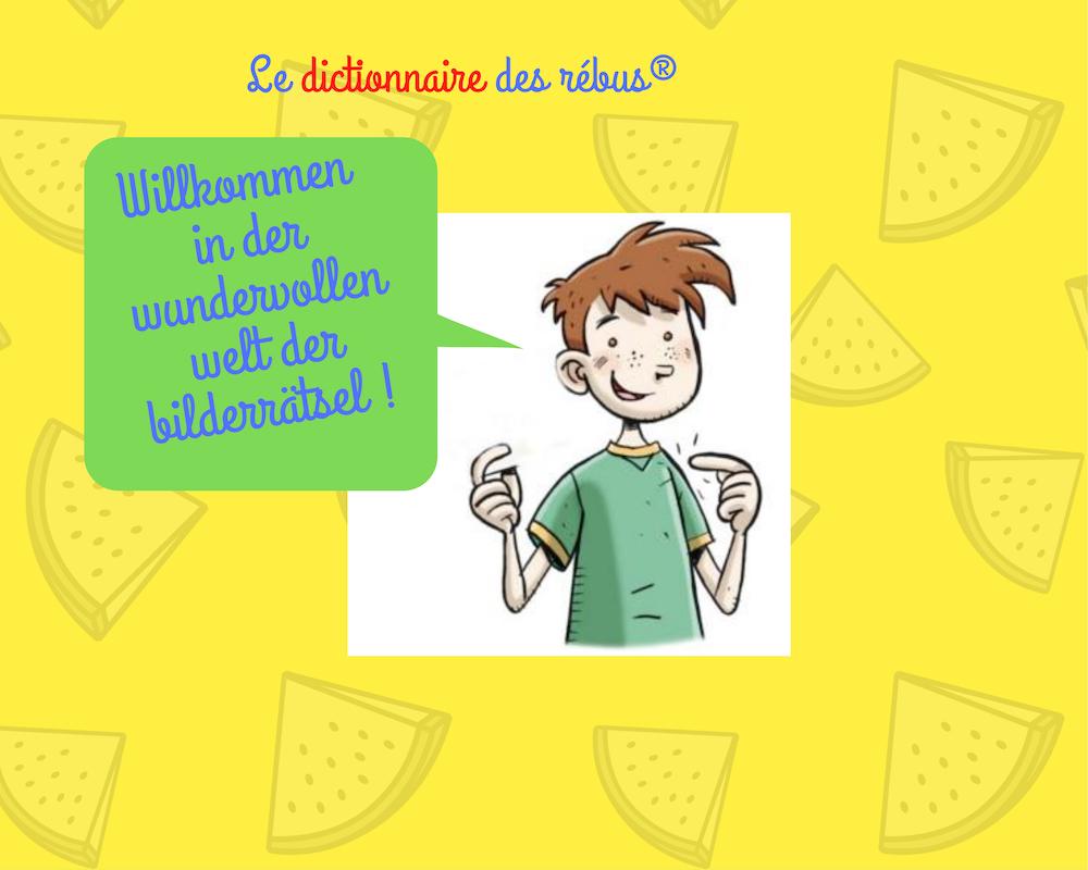 bienvenue dans la version allemande